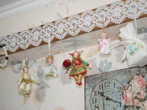Делаем вешалку для украшений «Зимний цветок». Ярмарка Мастеров - ручная работа, handmade.