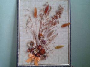 Картины/пано из сухоцвета. Ярмарка Мастеров - ручная работа, handmade.