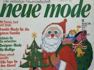 Neue mode 11 1988 (ноябрь). Ярмарка Мастеров - ручная работа, handmade.