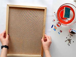 Видеоурок: как натянуть бумагу на планшет. Ярмарка Мастеров - ручная работа, handmade.