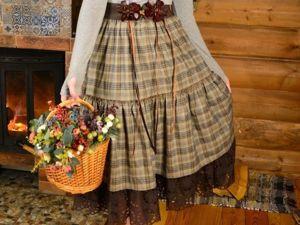 Аукцион на юбку  «Шоколад». Ярмарка Мастеров - ручная работа, handmade.