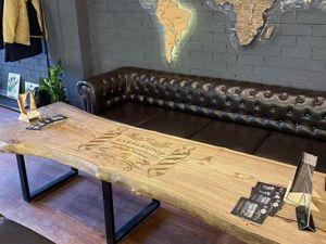 Стол из массива дерева. Ярмарка Мастеров - ручная работа, handmade.