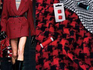 Пальтовая и плательная ткани. Ярмарка Мастеров - ручная работа, handmade.