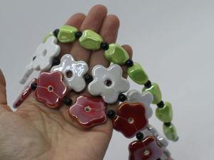 Анонс: классные керамические бусины :). Ярмарка Мастеров - ручная работа, handmade.
