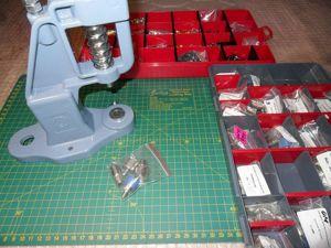Насадки для установки фурнитуры ручным прессом. Что это такое и как ими пользоваться. Ярмарка Мастеров - ручная работа, handmade.