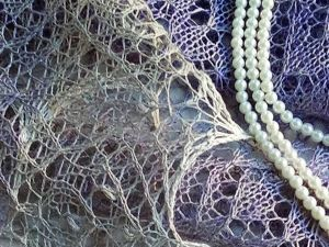 Вяжем спицами шаль «Лиловые сумерки». Ярмарка Мастеров - ручная работа, handmade.
