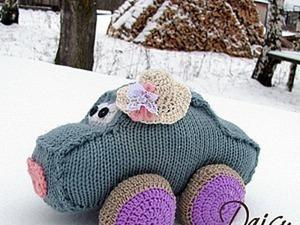 Мастер-класс: вяжем машинку-игрушку «Кристина». Ярмарка Мастеров - ручная работа, handmade.