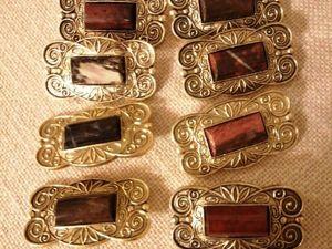 50% скидка на броши с яшмой  «Наташа» , СССР. Ярмарка Мастеров - ручная работа, handmade.
