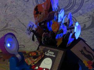 Как сделать объёмную открытку-коробочку на хэллоуин. Ярмарка Мастеров - ручная работа, handmade.