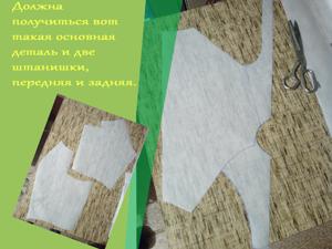 Как сделать выкройку реглана для собачки. Ярмарка Мастеров - ручная работа, handmade.