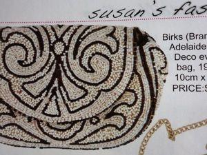 Изящные вечерние сумочки, винтаж из коллекции Susan's. Ярмарка Мастеров - ручная работа, handmade.
