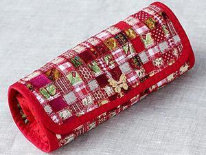 Шьём практичный текстильный пенал в технике лоскутной мозаики. Ярмарка Мастеров - ручная работа, handmade.