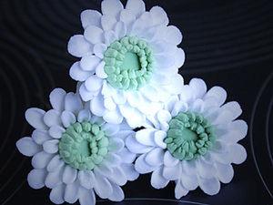 Лепим хризантему мини.. Ярмарка Мастеров - ручная работа, handmade.
