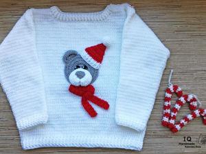 Уютный свитерок. Ярмарка Мастеров - ручная работа, handmade.