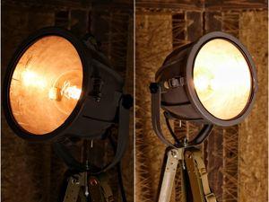 Прожектор на штативе. Ярмарка Мастеров - ручная работа, handmade.