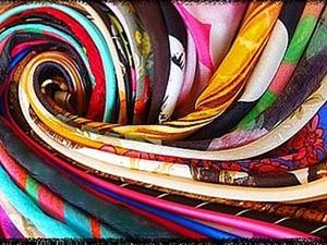 Его величество атлас и другие виды шёлка. Ярмарка Мастеров - ручная работа, handmade.