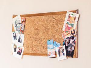 Мастерим доску для записей из пробковой панели. Ярмарка Мастеров - ручная работа, handmade.