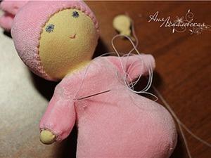 Вальдорфская куколка «Пуська». Ярмарка Мастеров - ручная работа, handmade.