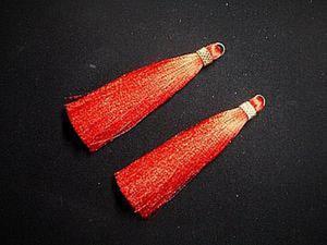 Делаем шелковые кисти для бижутерии. Ярмарка Мастеров - ручная работа, handmade.