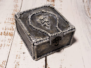 Делаем красивую коробочку из картона. Ярмарка Мастеров - ручная работа, handmade.