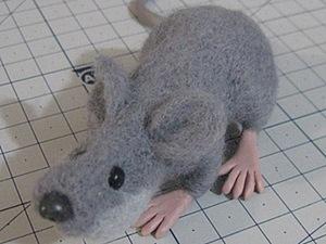 Как я мыша валяла.. Ярмарка Мастеров - ручная работа, handmade.