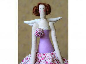 Мастер-класс: шьем куклу тильду «Ангел». Ярмарка Мастеров - ручная работа, handmade.