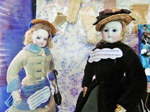 О модных парижанках, или Старинные куклы как предметы искусства. Ярмарка Мастеров - ручная работа, handmade.