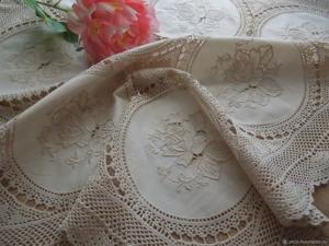 РАСПРОДАЖА винтажного текстиля — скидки до 60%. Ярмарка Мастеров - ручная работа, handmade.