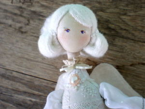How to Create a Doll's Hairdress from Corded Yarn. Livemaster - handmade