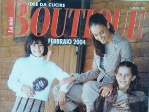 Boutique, Февраль 2004 г. Фото моделей. Ярмарка Мастеров - ручная работа, handmade.