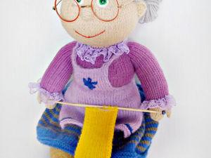 Скидка на  две игрушки Баба Яга и Бабушка вязальщица!. Ярмарка Мастеров - ручная работа, handmade.