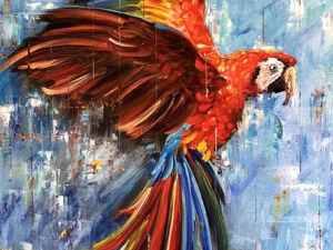 Попугаи — прекрасные милые создания!:). Ярмарка Мастеров - ручная работа, handmade.