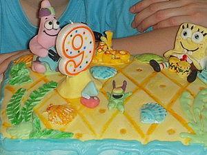 """Торт """"Губка Боб Квадратные штаны"""". Ярмарка Мастеров - ручная работа, handmade."""