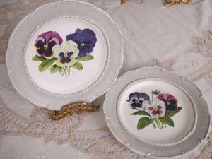 Декорируем фарфоровую тарелку в технике декупаж. Ярмарка Мастеров - ручная работа, handmade.