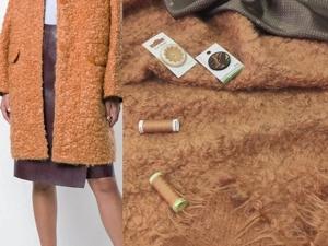 Пальтовая ткань из шерсти и мохера. Ярмарка Мастеров - ручная работа, handmade.