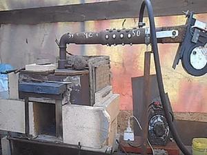 Оборудование кузницы: как сделать газовый горн своими руками. Ярмарка Мастеров - ручная работа, handmade.