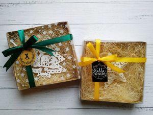 Мастерим и упаковываем небольшую коробочку. Ярмарка Мастеров - ручная работа, handmade.