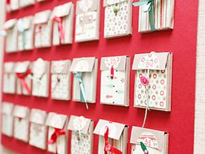 Advent Calendar - дарите сюрпризы каждый день!. Ярмарка Мастеров - ручная работа, handmade.