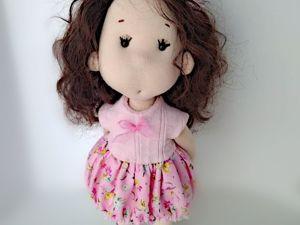 Изготовление текстильных кукол. Ярмарка Мастеров - ручная работа, handmade.