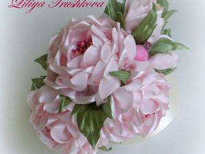 Мастер-класс по созданию цветка из ткани  «Стилизованная роза». Ярмарка Мастеров - ручная работа, handmade.