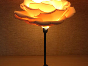 Создаем ночник из шелкового фоамирана. Ярмарка Мастеров - ручная работа, handmade.