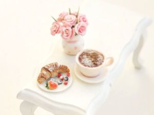 Видео мастер-класс: миниатюрная композиция «Завтрак» из полимерной глины. Ярмарка Мастеров - ручная работа, handmade.