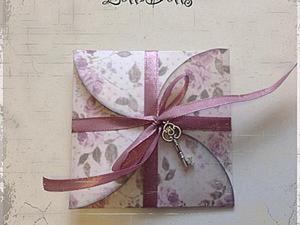 Как сложить красивый конверт для денежного подарка. Ярмарка Мастеров - ручная работа, handmade.
