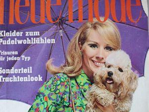 Новая мода Neue Mode 4/1967. Ярмарка Мастеров - ручная работа, handmade.