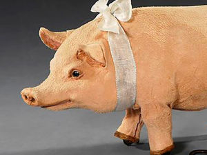 Symbol of the Year. Inspiring Collection of Toy Pigs. Livemaster - handmade