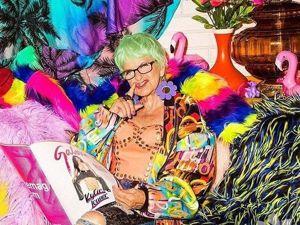 Baddie Winkle — модная старушка-радуга!. Ярмарка Мастеров - ручная работа, handmade.