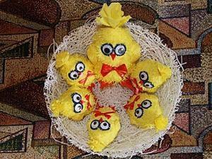 Делаем пасхальный сувенир малышам на потеху. Ярмарка Мастеров - ручная работа, handmade.