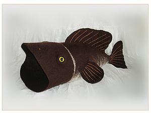 Рыбный День. Шапка для бани валяная.. Ярмарка Мастеров - ручная работа, handmade.