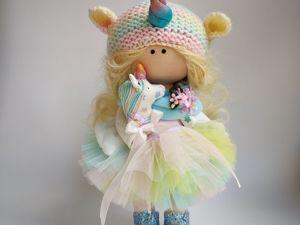 Марафон куколка Единорожка. Ярмарка Мастеров - ручная работа, handmade.