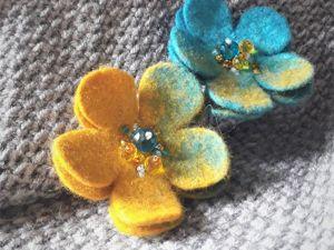 Пальтовые брошки, или как украсить себя в холодное время года. Ярмарка Мастеров - ручная работа, handmade.